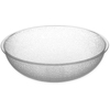 Carlisle Round Pebbled Bowl 3.1 qt - Clear CFS 721007CS