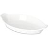 "Carlisle Oval Casserole Dish 7.5"" X 4.25"" - White CFS 740502CS"