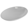 "Displayware 2 qt Oval Platter 14"" x 10"" - White"
