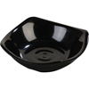 "Carlisle Melamine Small Flared Rim Square Dish Bowl 3.5"" - Black CFS 794003CS"