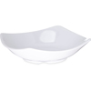 "Carlisle Melamine Flared Rim Square Dish Bowl 5.25"" - White CFS 794202CS"