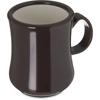 """Carlisle Diablo Mug 8 oz, 4-1/8"""" - Brown CFS 800401CS"""