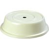 "Carlisle Polyglass Plate Cover 10-5/8"" to 10-11/16""  - Bone CFS 91075202CS"
