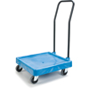 Safco-dollies: Carlisle - E-Z Glide™ Warewashing Rack Dolly with Handle