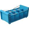 Carlisle OptiClean™ Flatware Basket with Handles CFS C32P214CS