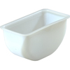 Carlisle Delux Condiment Replacement Pint Containers, White CFS CHI602CS