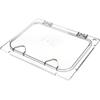 Carlisle Coldmaster® EZ Access Lid 1/2 size - Clear CFS CM10238Z07CS
