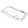 Carlisle Coldmaster® EZ Access Lid w/ Notch 1/3 Size - Clear CFS CM10279Z07CS
