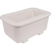 "Carlisle Coldmaster® 6"" Deep Third-Size Coldpan - White CFSCM104502CS"