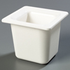"Carlisle Coldmaster® 6"" Deep Sixth-Size Food Pan - White CFS CM110402CS"