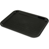 """Cafe® Fast Food Cafeteria Tray 10"""" x 14"""" - Black"""