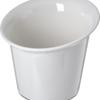 """Halcyon Flair Rim Appetizer Cup 5.5"""" - 18 oz - Bone"""