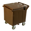 Carlisle Cateraide Ice Caddy (4 Swivel Casters) - Brown CFS IC225401CS
