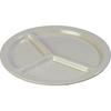disposable dinnerware: Carlisle - Kingline™ 3-Compartment Plate