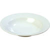 Carlisle Kingline Melamine Wide Rimmed Salad bowl 8 oz - White CFS KL12302CS
