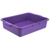 "Carlisle Comfort Curve Tote Box 20"" x 15"" x 5"" - Purple CFS N4401089CS"