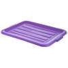 Carlisle Comfort Curve Tote Box Universal Lid - Purple CFS N4401289CS