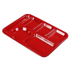 IV Supplies IV Kits Trays: Carlisle - Left Hand Polypropylene Tray