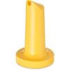 """Carlisle PourPlus Store 'N Pour® Spout 3-1/2"""" - Yellow CFS PS20404CS"""