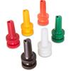 """Carlisle PourPlus Store 'N Pour® Spout 3-1/2"""" (12/st) - Assorted CFS PS204AST00CS"""