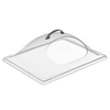 "Carlisle Center Cut 13"" X 10-3/4"" - Clear CFS PSD13CH07CS"