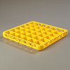 Carlisle Opticlean 36-Compartment Divided Extender - Yellow CFS RE36C04CS
