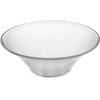 Carlisle Pebbled Bowl 3.3 qt - Clear CFS SB9007CS