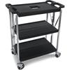 Carlisle Fold N Go® Cart - Black CFS SBC152103CS
