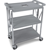 Janitorial Carts, Trucks, and Utility Carts: Carlisle - Fold 'N Go® Cart - Grey