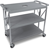 utility carts, trucks and ladders: Carlisle - Fold 'N Go® Cart - Grey