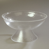 "Carlisle Pebbled Punch Bowl 768 oz., 22"" - Clear CFS SP2207CS"
