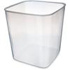 plastic containers: Carlisle - StorPlus Container 8 qt - See Thru