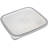 plastic containers: Carlisle - StorPlus™ 6-8 qt See Thru Lid