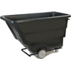 Clean and Green: Carlisle - Heavy Duty Utility Tilt Truck 1 yard - 1200 lbs - Black