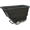 Clean and Green: Carlisle - Standard Duty Utility Tilt Truck 1 yard - 850 lbs - Black