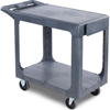 utility carts, trucks and ladders: Carlisle - Flat Shelf Utility Cart