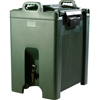 Carlisle Cateraide Beverage Server 10 Gal - Forest Green CFS XT1000008CS