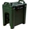 Carlisle Cateraide Beverage Server 2.5 Gal - Forest Green CFSXT250008CS