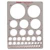 Chartpak Chartpak® Templates CHA 1204I