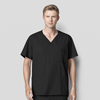 WonderWink Mens WonderWORK Top CID 103X-BLAC-2XL