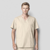 WonderWink Mens WonderWORK Top CID 103A-KHAK-XL