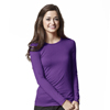 Scrubs-products: WonderWink - Silky Long Sleeve Viscose Rayon Tee