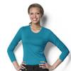 workwear: WonderWink - Silky Long Sleeve Viscose Rayon Tee
