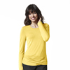 scrub tops: WonderWink - Silky Long Sleeve Viscose Rayon Tee
