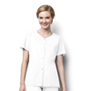 scrubs: WonderWink - Women's Short Sleeve Snap Jacket