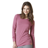 scrubs: WonderWink - Women's Long Sleeved Striped Tee