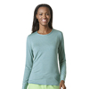 workwear: WonderWink - Women's Long Sleeved Striped Tee