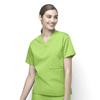 WonderWink Alpha - Unisex V-Neck Top CID 6006A-GAP-MD