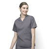 scrub tops: WonderWink - Alpha - Unisex V-Neck Top