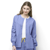 WonderWink Delta - Snap Front Jacket CID8006A-CBL-MD